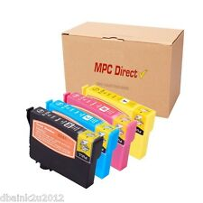 4 Pack T220XL  220XL Ink CARTRIDGE FOR Epson WorkForce WF-2630 Printer