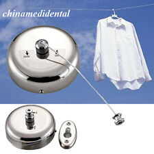 Retractable Stainless Steel Drying Clothes lines Wall Hanger Laundry Rack Indoor