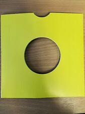 "25 X 12"" YELLOW CARD RECORD MASTERBAGS SLEEVES / COVERS *NEW*"