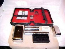 VINTAGE VANDERBILT HOTEL N. Y. SOAP & GENTS TRAVEL KIT JAPAN & KING LEATHER CASE
