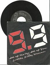 "9.9   All of me for all of you, G/VG  7"" Single 999-763"