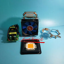 100W 380-840NM full spectrum led +100w Driver + 100w radiator tube CPU fan ,lens