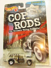 HOT WHEELS 1999 COP RODS SACRAMENTO, CA SERIES 2 CHEVY NOMAD WHITE