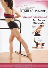CARDIO BARRE ULTIMATE ADVANCED DVD WITH BONUS WORKOUTS BALLET STYLE WORKOUT