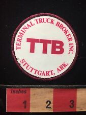TBB Trucker Patch Terminal Truck Broker Inc. Stuttgart Arkansas 674