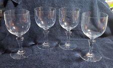"""BACCARAT NORMANDIE CRYSTAL-Four Tall Water Goblets-6 1/2"""""""