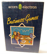 Acorn Electron Cassette Game -BUSINESS GAMES