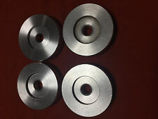 4 x Technics 1200 / 1210 Mk5 45 adapters. Free shipping world wide!!!!!!!!!!!!!!