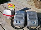 Detroit Diecast RCA Victor Drive-In Theatre Movie Speaker Set With Junction Box