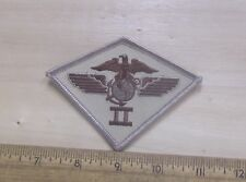 US Marine Corps - 2nd Marine Airwing - Desert Tan Embroidered Patch