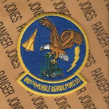 """USAF Air Force 80th MAPS Mobile Aerial Port Squadron 3.25"""" patch"""