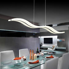 LED Ceiling Lamp Chandelier Lighting Fixture Pendant Light Living Room White USA