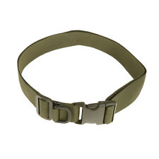120cm Tactical Quick Release Rescue Rigger Military Webbing Belt Army Green