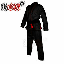 BJJ Gi Suits Brazilian Jiu Jitsu Gi All Sizes MMA kimono ROX FIT Black Red Gi