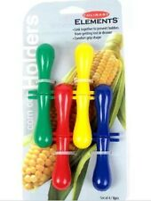 Culinary Elements Stainless Steel Corn Holders Kitchen Tools Gadgets Cooking