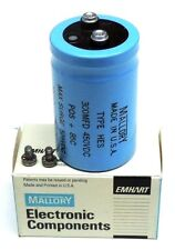 NIB MALLORY HES301G450V3C CAPACITOR TYPE HES 300MFD 450VDC