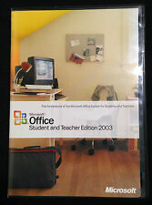 MICROSOFT Office Student and Teacher Edition 2003 - Genuine full retail version!