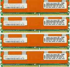8GB 4X2GB KIT DELL FBDIMM PowerEdge 2900 M600 2950 III 2900 R900  RAM MEMORY
