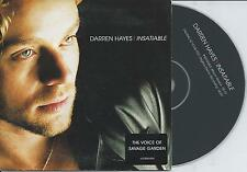 DARREN HAYES - insatiable CD SINGLE 2TR EU CARDSLEEVE 2002 (SAVAGE GARDEN)