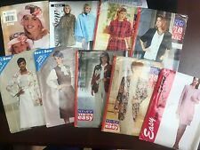 See & Sew & Stitch n Save Vintage Assorted Patterns - Sizes 6-14