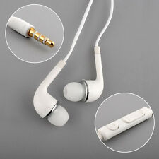 Portable High Quality WHITE HEADSET Earphone FOR SAMSUNG GALAXY S4 i9500