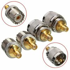 Kit Adapter 4pcs/set PL259/SO239 to SMA Male Female RF Connector Test Converter