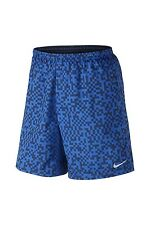 "New NIKE MENS Short Size XL /Running/ Megapixel Distance 7"" / Navy/ DRIFIT/ Gym"