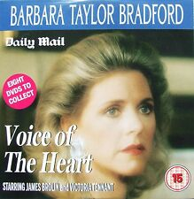 DVD Daily Mail Promo BARBARA TAYLOR BRADFORD Voice of the Heart James Brolin