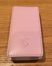 Apple iPod Nano 2nd Gen 2G Pink Leather Case NEW UK