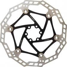 Clarks Galleggiante Acciaio Bicicletta Disco Disco del rotore dei freni in Nero 180mm