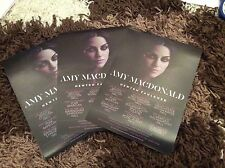 AMY MACDONALD- UK TOUR 2017- CONCERT FLYERS X 3