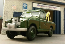 1:76 OO Scale Model Land Rover 2a 109 LWB Breakdown Recovery Harvey Frost Crane