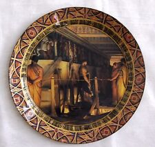 "DURWIN RICE New York artist Decoupage Plate 13"" One of a kind !"