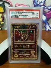 PSA 10 ANCIENT MEW DOUBLE SIDE HOLO POKEMON MOVIE 2000 GAME PROMO GEM MINT