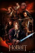 The Hobbit : Desolation of Smaug : Fire Montage - Maxi Poster 61cmx91.5cm (new)