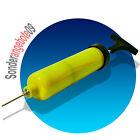 Ballpumpe Fussball - Pumpe Luftpumpe Nadelventiel gelb mit Ventilnadel