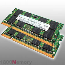 Apple Mac 2GB Memory 2x 1GB 800MHz DDR2 PC2-6400 SODIMM RAM for MacBook Pro iMac