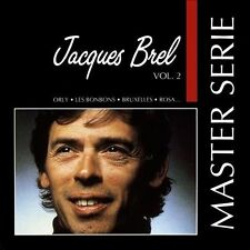 JACQUES BREL MASTER SERIE VOL. 2 CD! [POLYGRAM 1990] MINT!