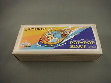 Tin Toy - Explorer Pop Pop Boat Candle Powered