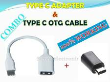*TYPE C OTG CABLE AND TYPE C ADAPTER FOR IBERRY AUXUS 4X*