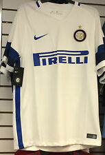 2016-17 Team Inter Milan  Soccer Home Jersey Short Sleeves Small Serie A League