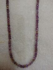 "100% NATURAL AMETRINE MICRO FACETED  RONDELLE  BEADS  13"" 4 - 4.5 MM  AAA+"