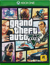 Grand Theft Auto V GTA 5 XBOX ONE GAME BRAND NEW SEALED