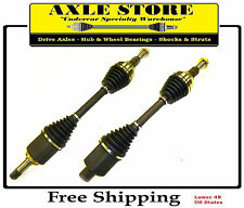 2 New CV Axles Front L & R Sides OE Repl. With Warranty Enclave, Acadia, Outlook