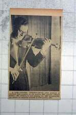 1951 Violinist Tom Jenkins Playing 1667 Stradivarius