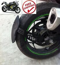 Kawasaki Ninja 300 Ex300b Abs Rear Protect Mud Dust Guard Fender Shield Strong