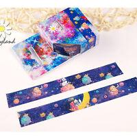 Cute Cats Planet Cartoon Washi Tape Paper Masking Sticker Diary Scrapbook Decor