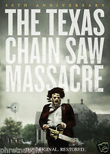 THE TEXAS CHAINSAW MASSACRE 40TH ANNIVERSARY DVD - AUTHENTIC US RELEASE