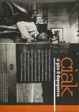 SP37 Clipping-Ritaglio 2000 Emit Kusturica Ciak si gira il dopoguerra
