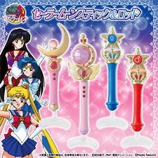 Bandai Sailor Moon Wands Gashapon Vol 1 Stick Rod Transformation Wands set of 4